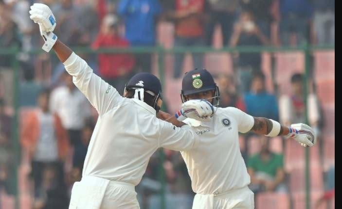 विराटची रनमशीन सुस्साट! कसोटीत २० वं शतक, मुरली विजयचीही सेंच्युरी