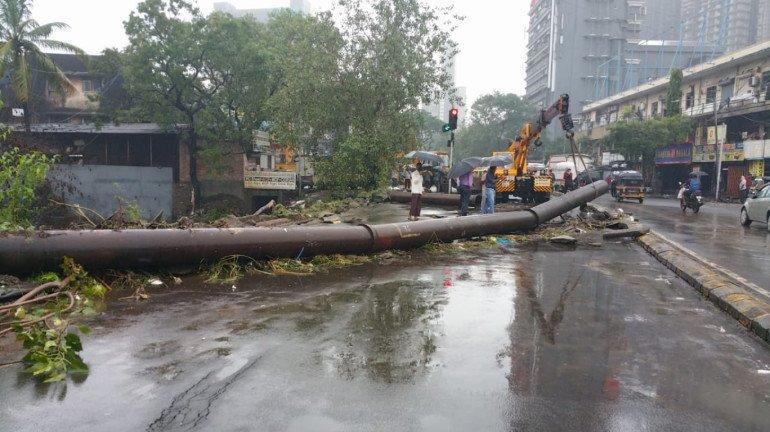 एस.व्ही. रोड, राममंदिरकडे जाणारा रस्ता वाहतुकीसाठी बंद