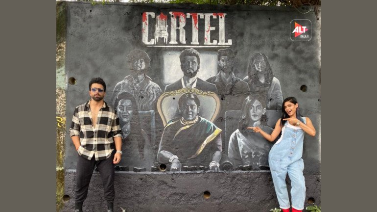 ALTBalaji unveils the ensemble poster of its latest action drama Cartel with quirky graffiti in the streets of Mumbai