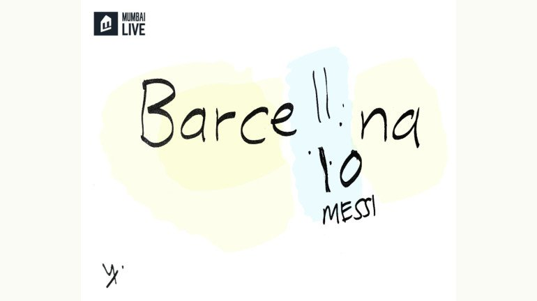 Cartoon: Lionel Messi to leave Barcelona after 17 years