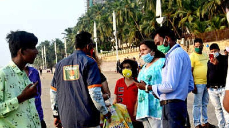 BMC takes action against 30,44,794 citizens for refusing to wear face masks