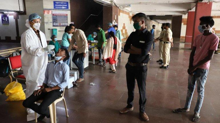 NMMC sets up COVID-19 test centres across stations in Navi Mumbai