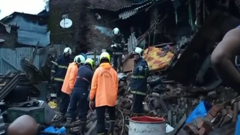 Mumbai Rains: 26-year-old dies after 3 houses collapse in Dahisar