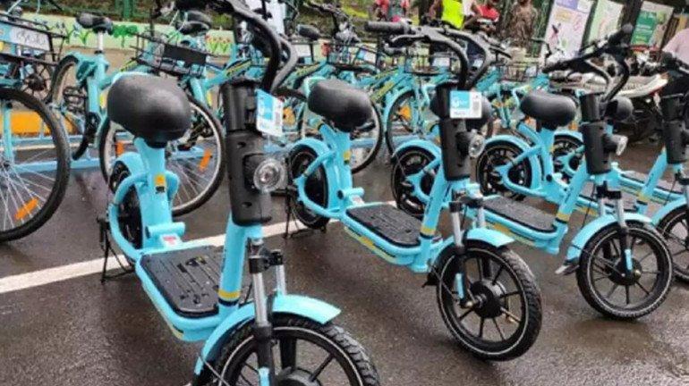 E-bike facility now available at Kurla railway station