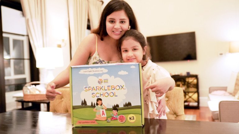 SparkleBox School Finds its new admirer in Ziva Dhoni