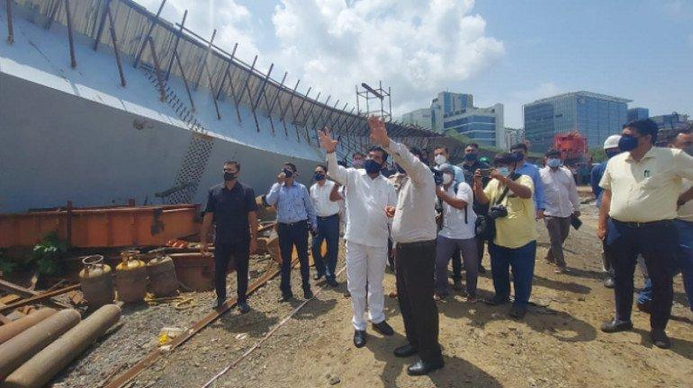 बांद्रा-कुर्ला कॉम्प्लेक्स जेवीएलआर पुल दुर्घटना की जांच के आदेश!