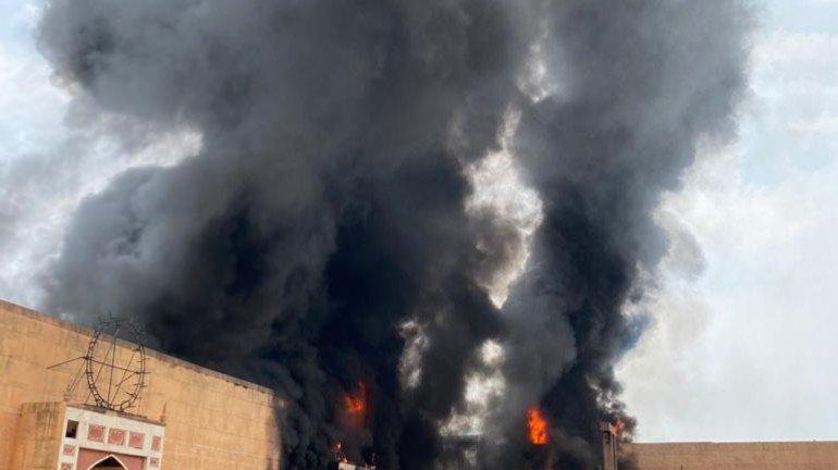 Major fire breaks out at ND Studio, Jodhaa Akbar set up in flames