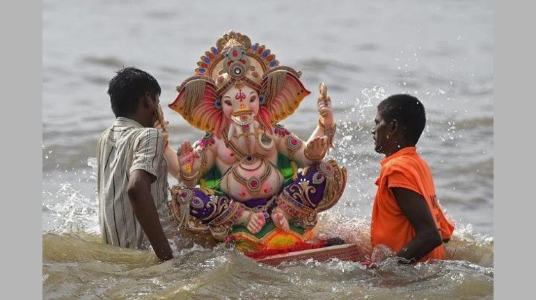 Ganpati 2021: Nearly 15,295 Idols Immersed On Day 7 Of Festivities In The City