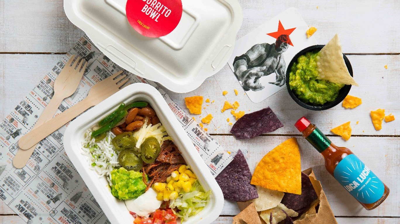 Loca Lucho: This Mission-Style Mexican Delivery Kitchen Is The Perfect Combination Of Healthy and Tasty