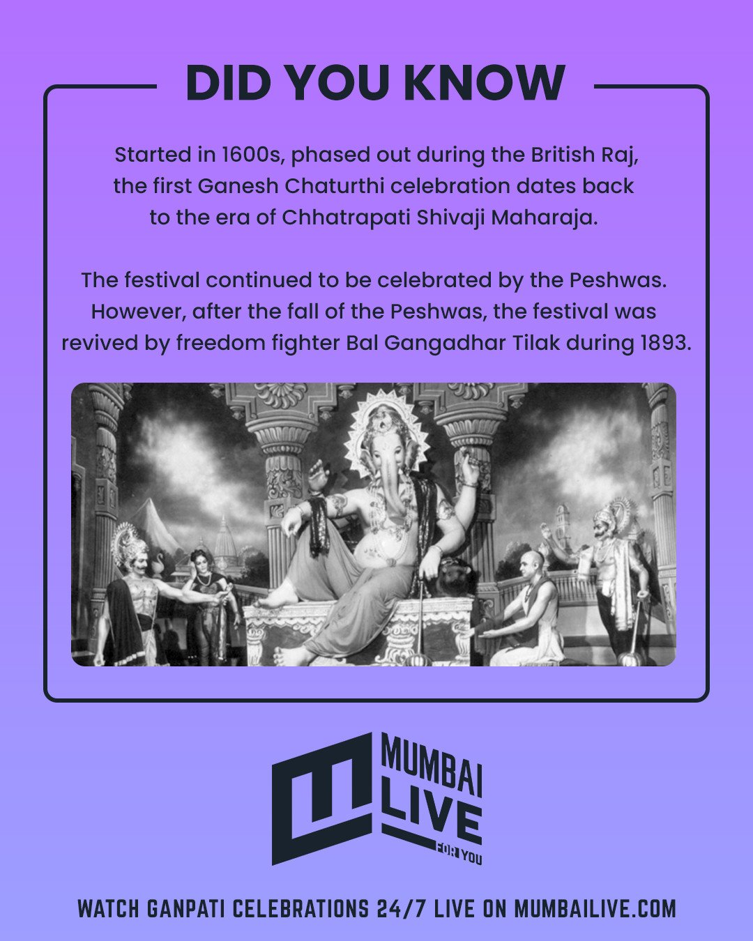 Ganesh Chaturthi: Did you know the celebrations started back in 1600s?