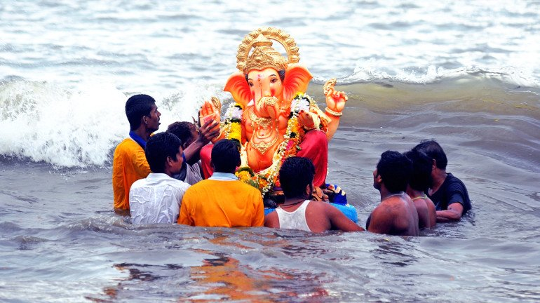 Mumbai: Rise In Immersions Of Ganesh Idols In Contrast To Last Year