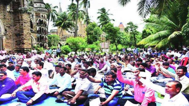 प्राध्यापक आंदोलनाला मुंबईत समिश्र प्रतिसाद, तावडेंचं फक्त आश्वासन