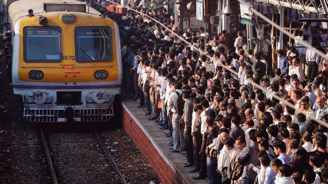 Image result for mumbai local train image in hd