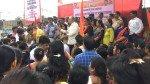 Yuva Sena protests against Rustomjee International School's unfair fee hike