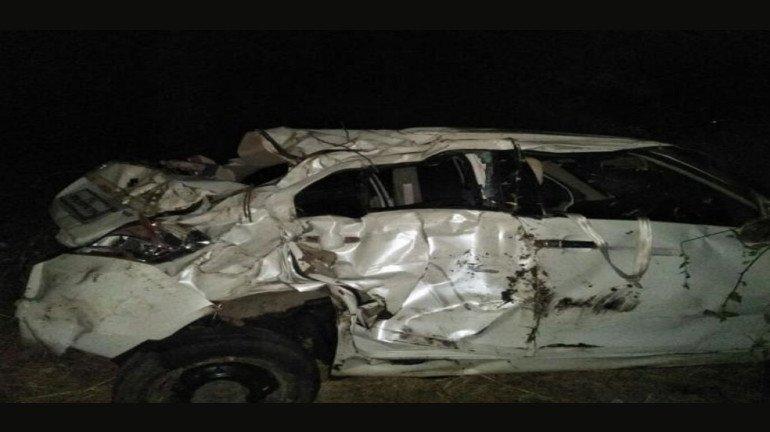 नशा बेतली जीवावर, कार अपघातात एकाच मृत्यू, दोन जखमी