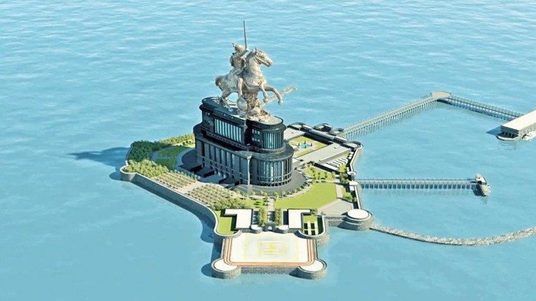 Shivaji Memorial should be constructed on land: Maratha Sena Sangh