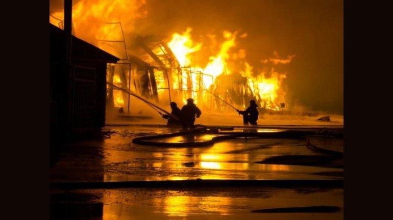 भिवंडी के गोदाम में लगी आग, कोई हताहत नहीं