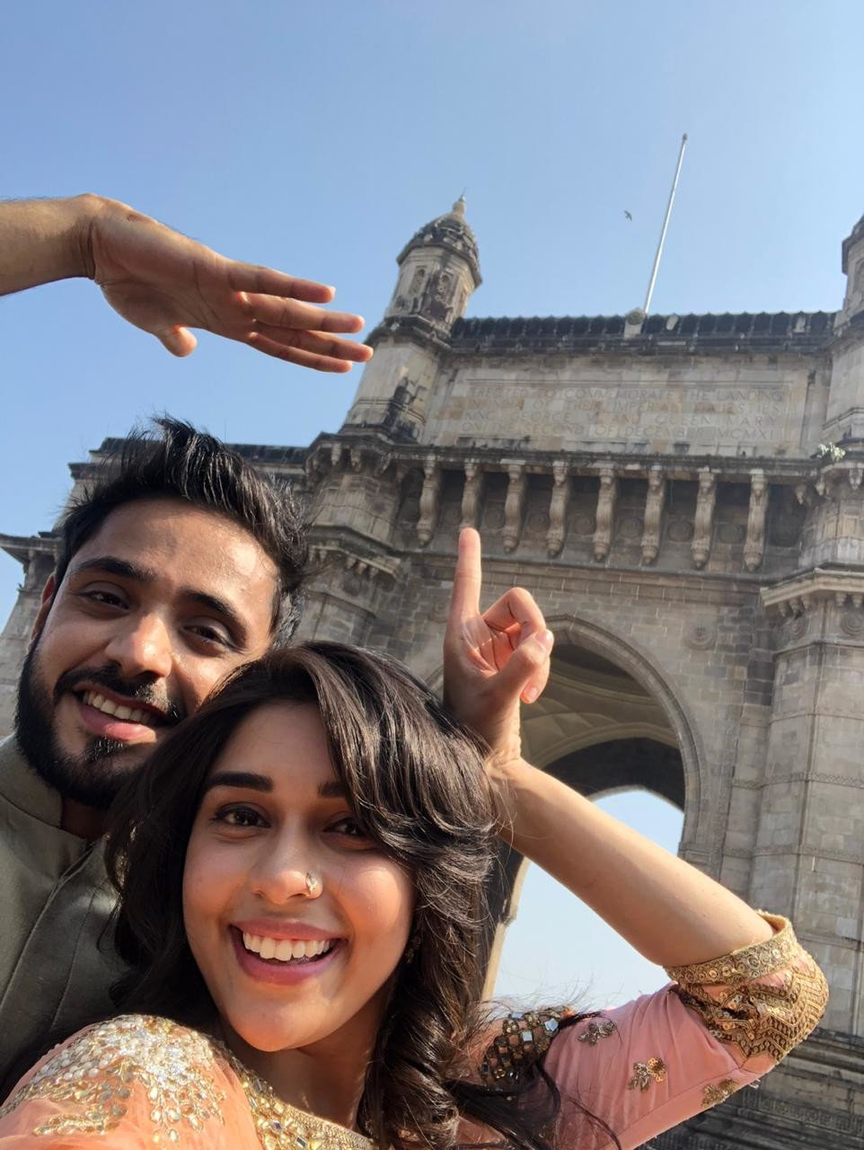 Ishq Subhan Allah's Eisha Singh and Adnan Khan's day out in Mumbai