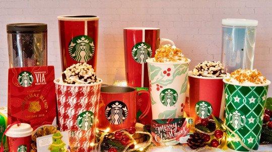 Starbucks Christmas.Enjoy Some Christmas Magic With Starbucks India