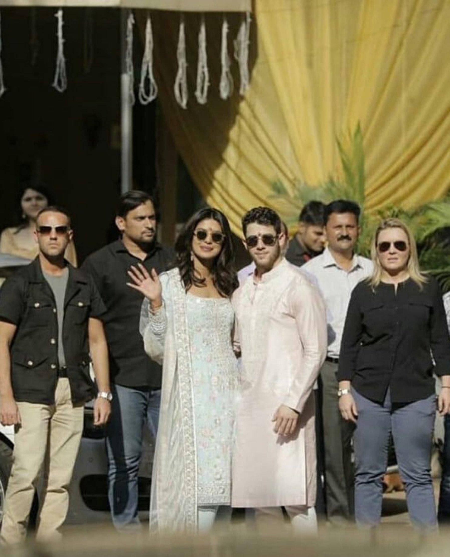 #PriyankaWedsNick: Priyanka Chopra And Nick Jonas' Pre-Wedding Celebrations Underway