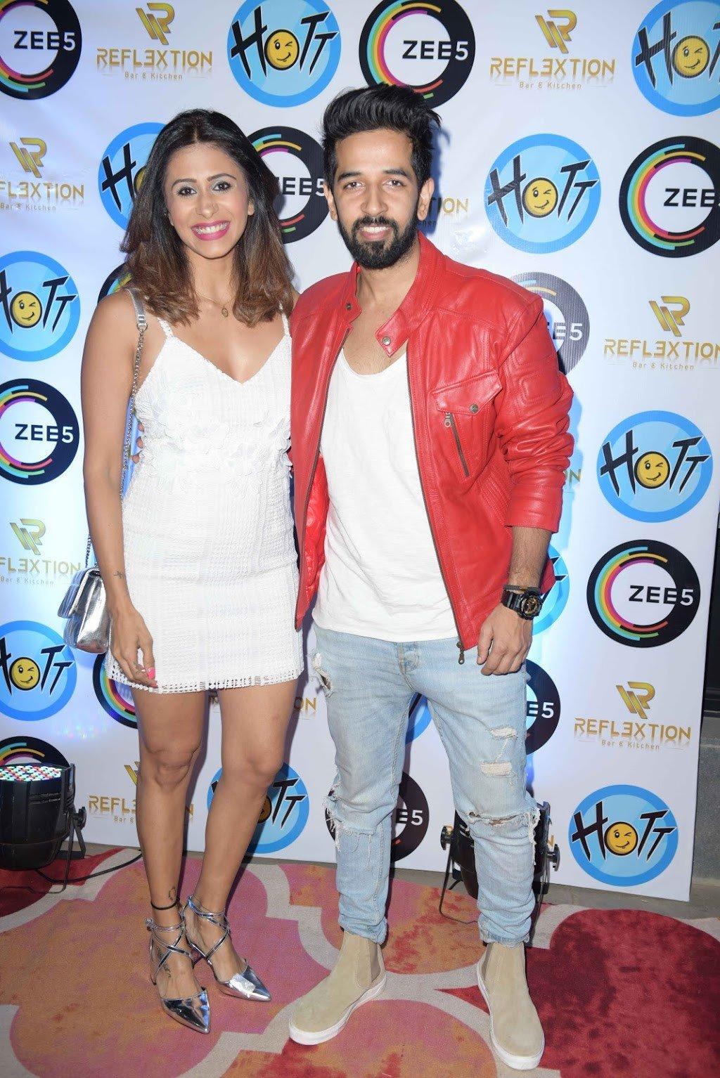 Karan Veer Mehra Hosts A Bash to celebrate Hott Studios' collaboration with Zee5