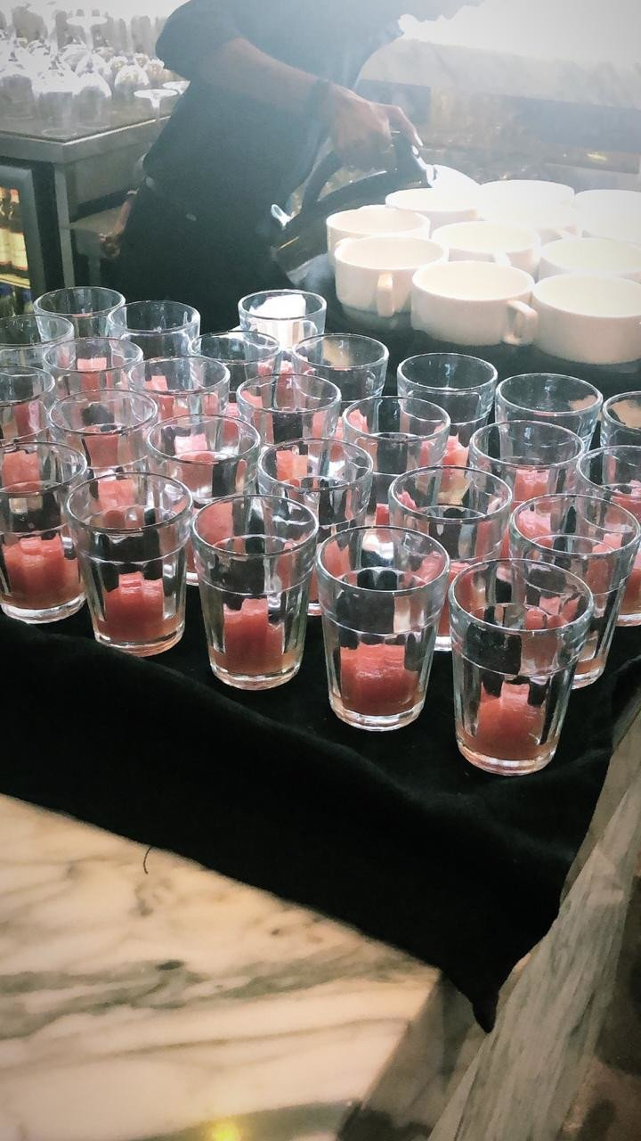 From baked yoghurt to dark chocolate mousse, Typhoo's tea-pairing session was full of suave