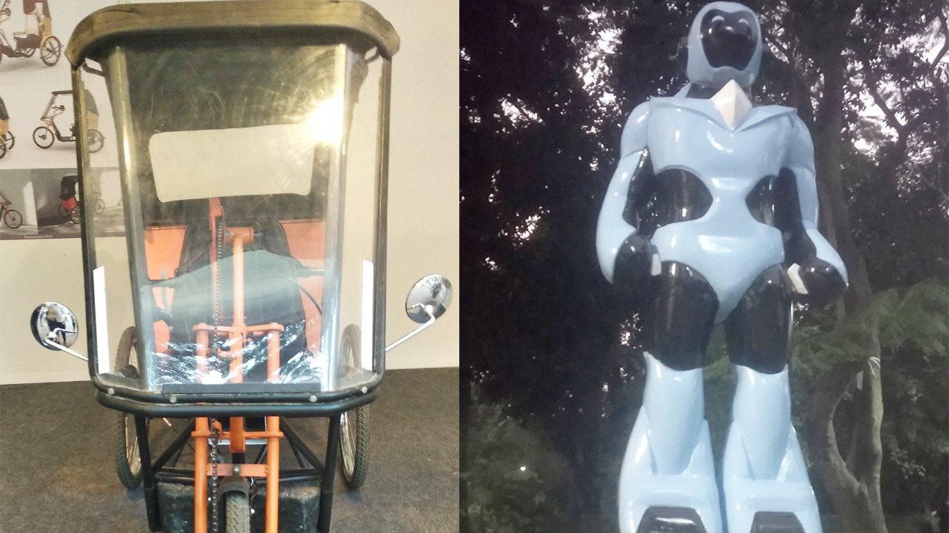 आयआयटी टेकफेस्टमध्ये अँड्राॅइड-यू, फूटबाॅल खेळणारा रोबो हिट