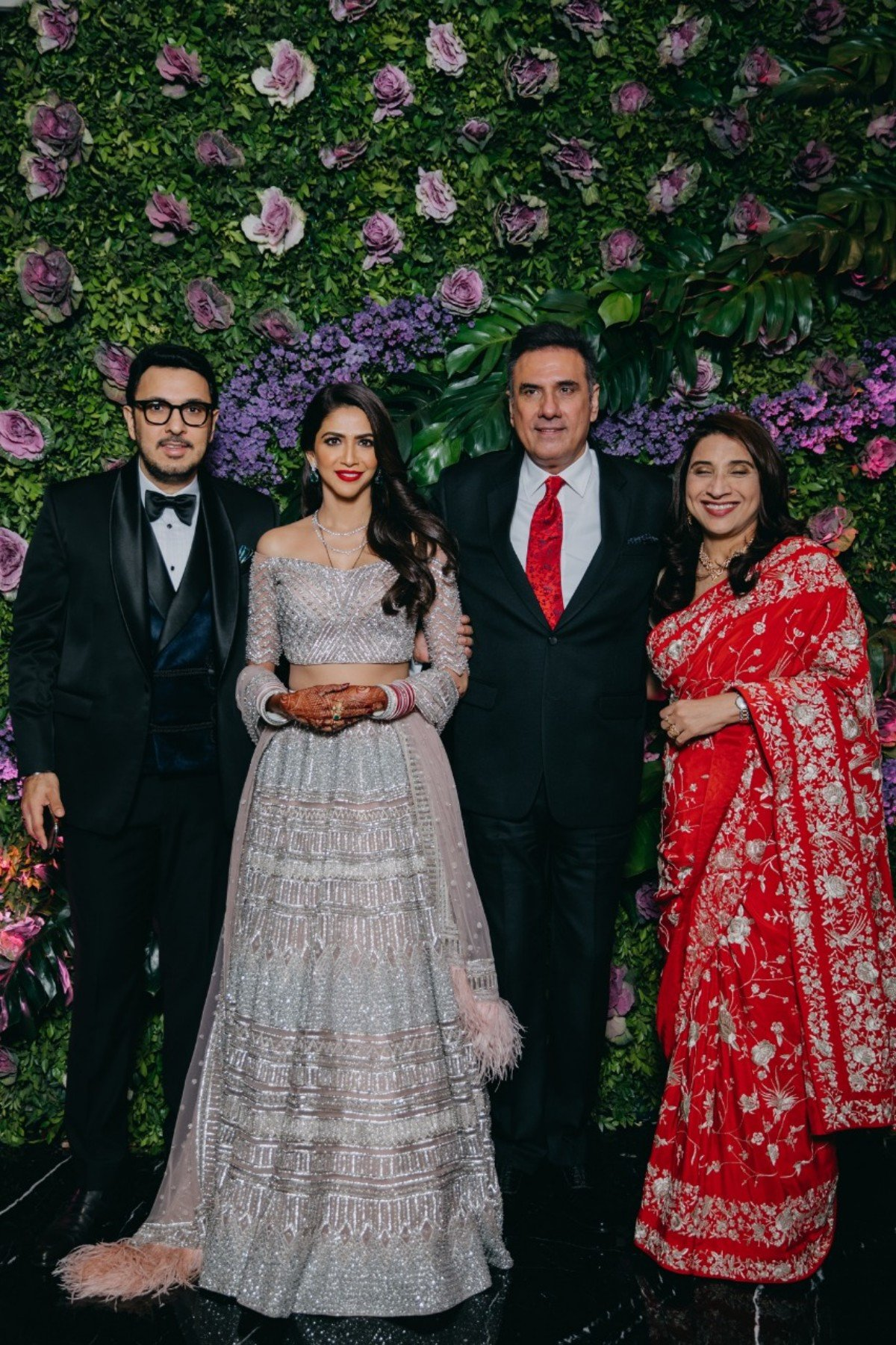 In Pics: B-town celebs attend producer Dinesh Vijan- Pramita Tanwar's wedding party