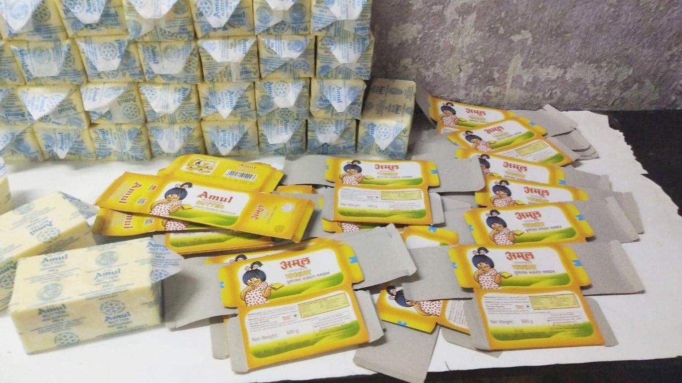 अमूलच्या नावाखाली बनावट बटरची विक्री; ठाण्यात एफडीएची कारवाई