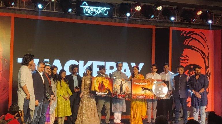 Nawazuddin Siddiqui starrer 'Thackeray's' music album launched