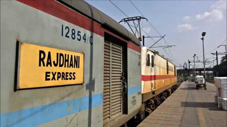 The first journey of Mumbai-Delhi Rajdhani Express to begin on January 19