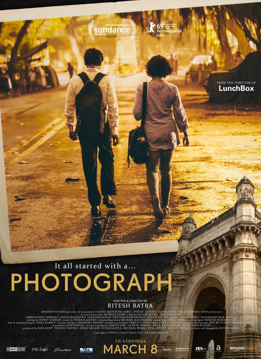 Rajkummar Rao and Sanya Malhotra starrer 'Photograph' to release on March 8
