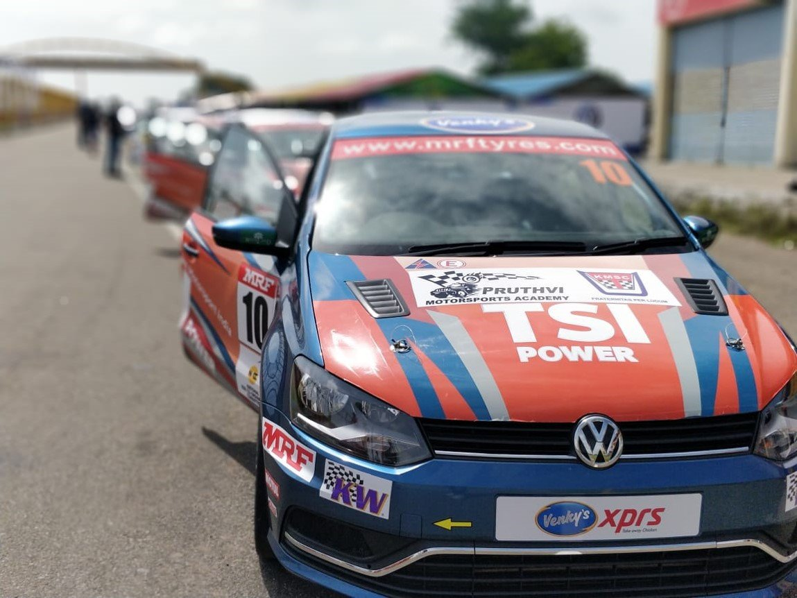 Indian audience introduced to motorsport with 9th FMSCI MMSC Volkswagen Ameo Cup