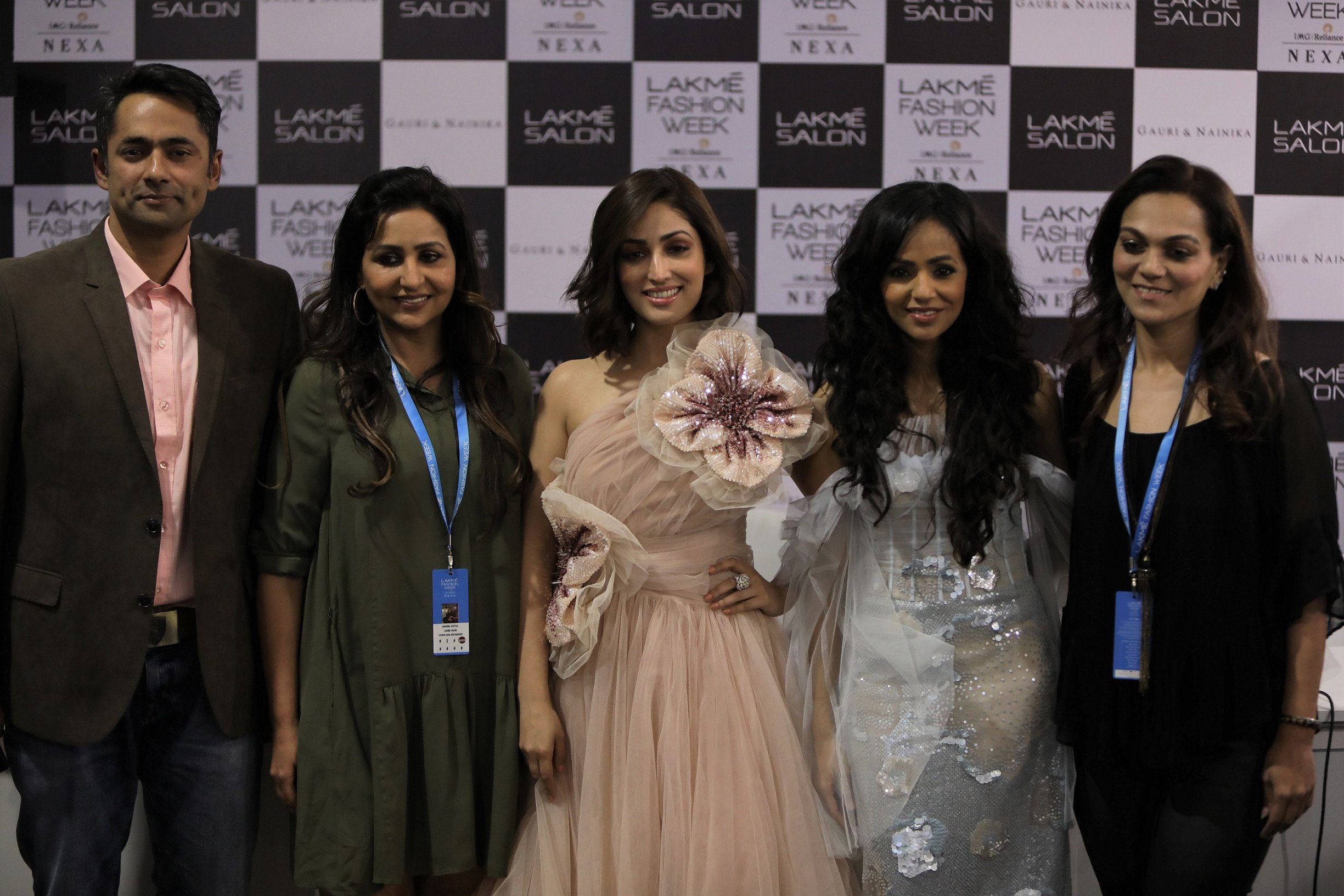 Lakmé Salon and Gauri and Nainika presented 'The Art Of Latte' collection at Lakmé Fashion Week