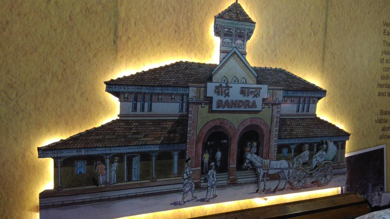 वांद्रे स्थानकाच्या जुन्या आठवणींना उजाळा देणारे 'हेरिटेज प्रदर्शन'