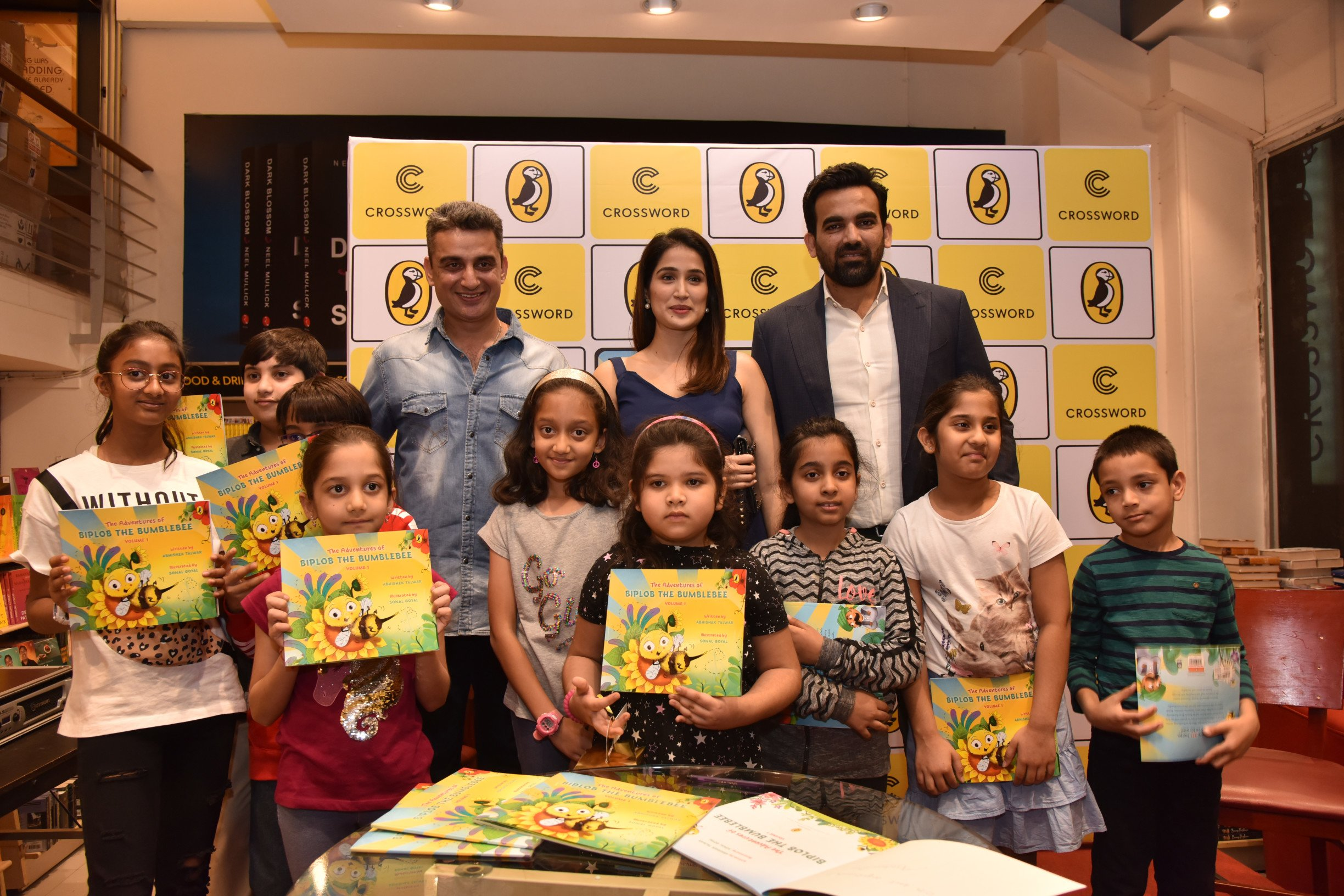 Abhishek Talwar's 'The Adventures of Biplob the Bumblebee' launched at Crossword Bookstore