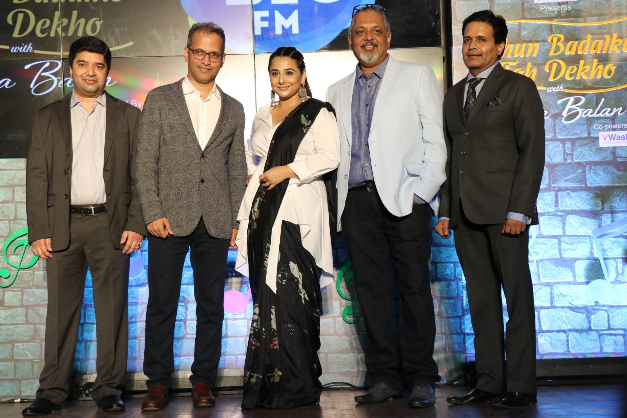 92.7 Big Fm launches new show 'Dhun Badal Ke Toh Dekho' with Vidya Balan
