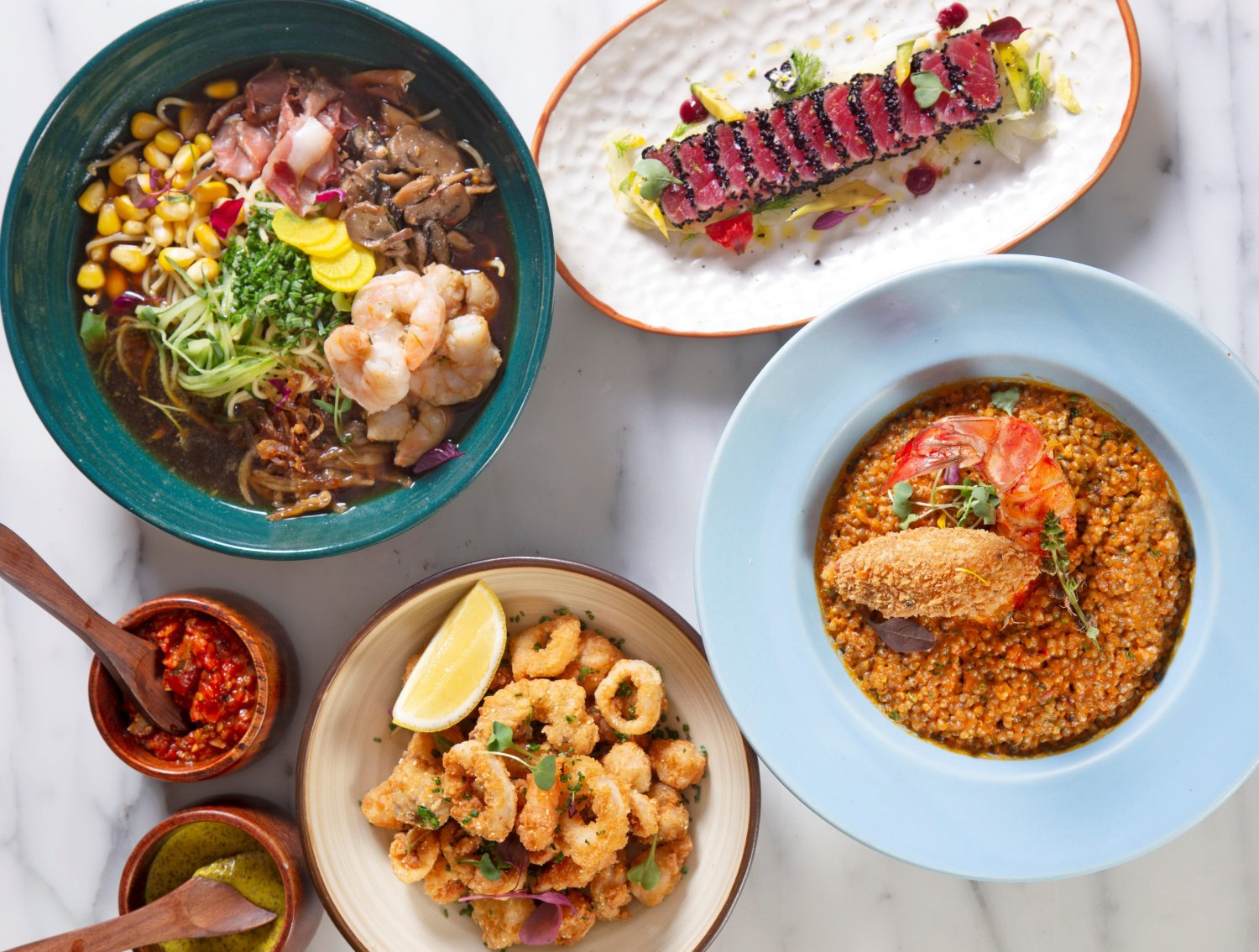 There's a special seafood fiesta at Toast & Tonic this March