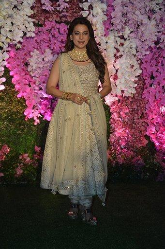 In Pics: Celebrities galore at Akash Ambani and Shloka Mehta's wedding reception
