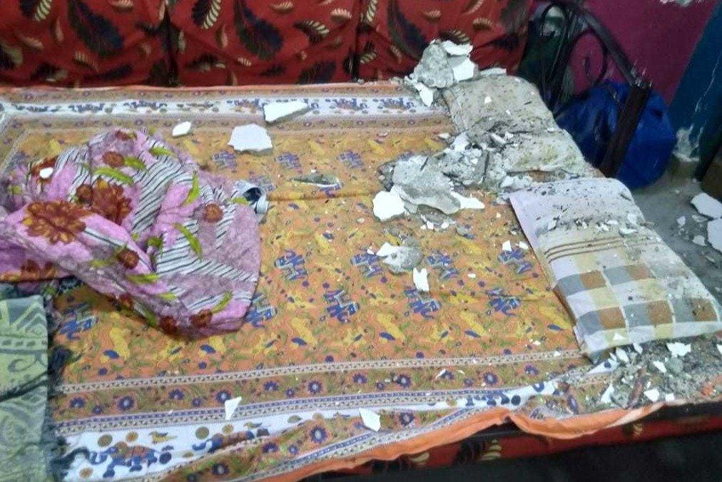 नायगाव बीडीडीत स्लॅब कोसळून महिला जखमी