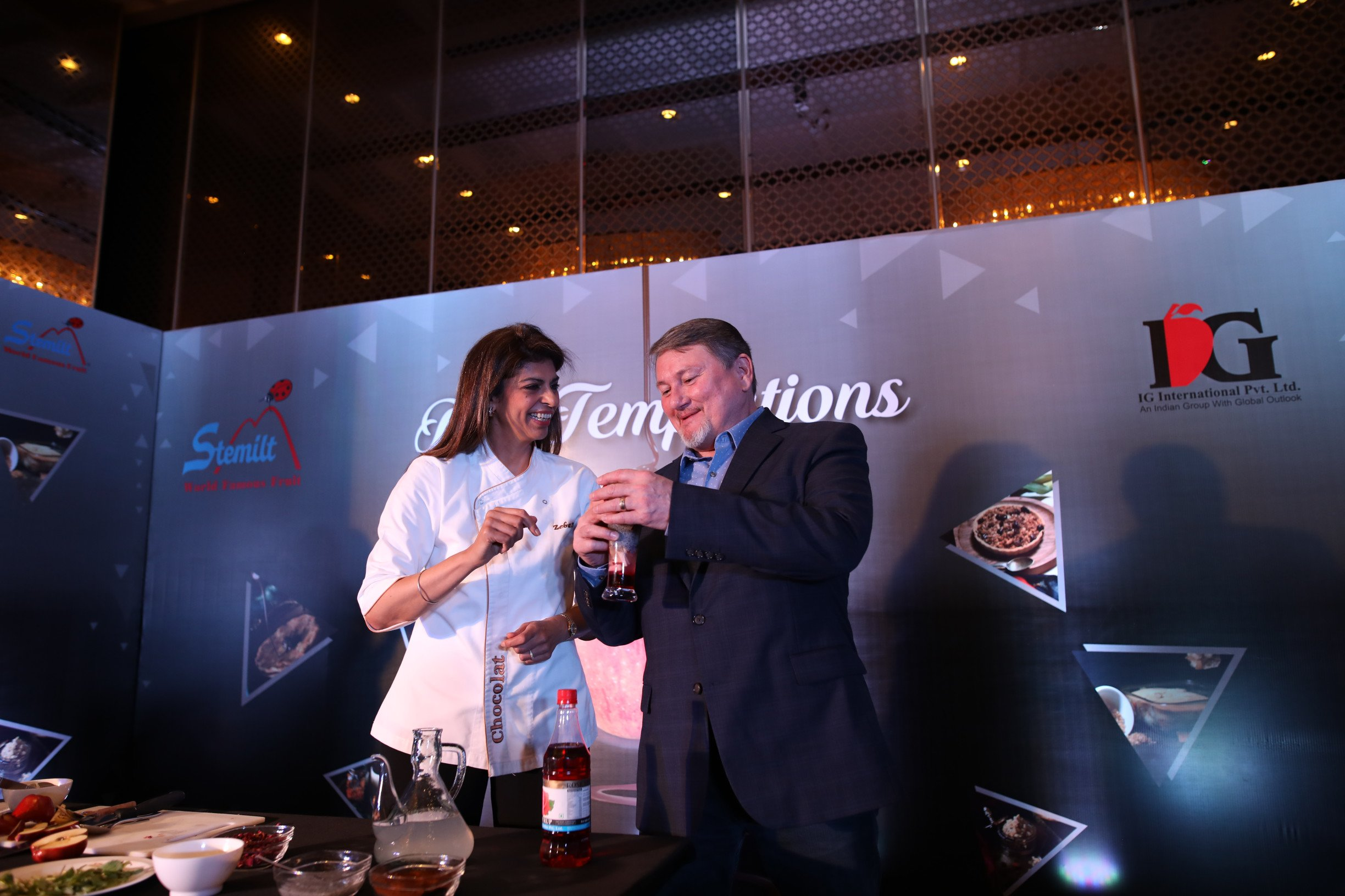 When Apples Meet Chocolate: IG International launches 'Applelicious' by Chocolatier Zeba Kohli in association with Stemilt Growers