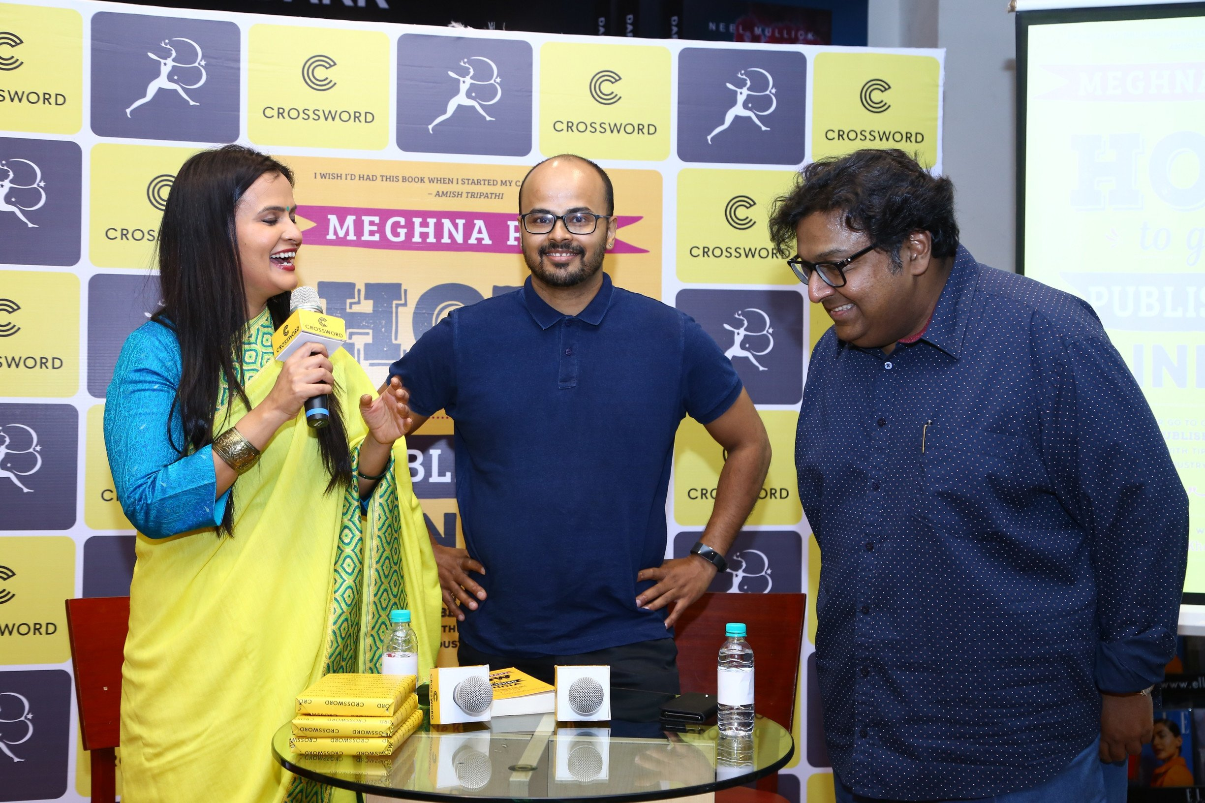 Crossword Bookstores hosts Meghna Pant's 'How to Get Published in India'