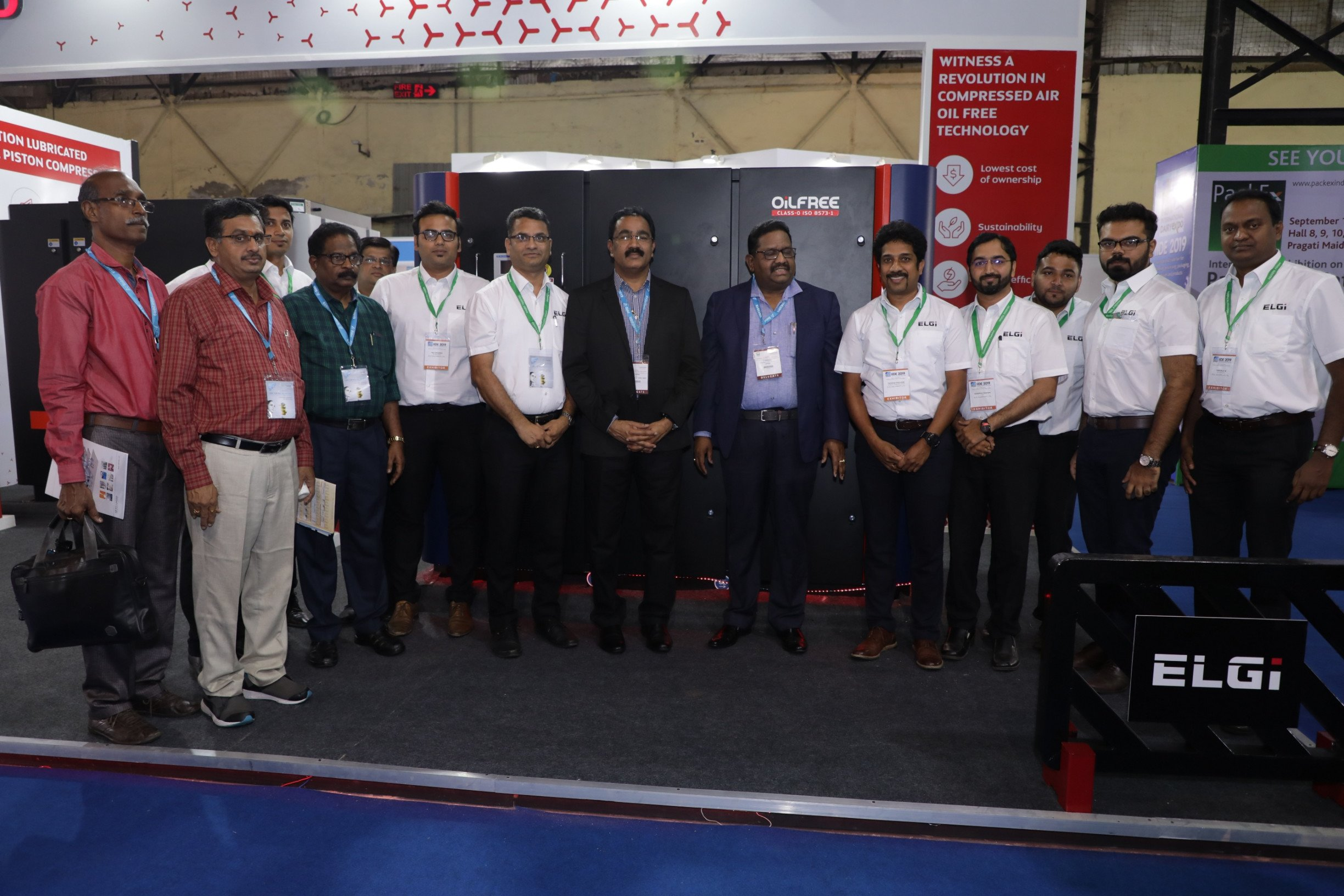 Elgi Equipments participates in the India International Dairy Expo (IIDE) 2019