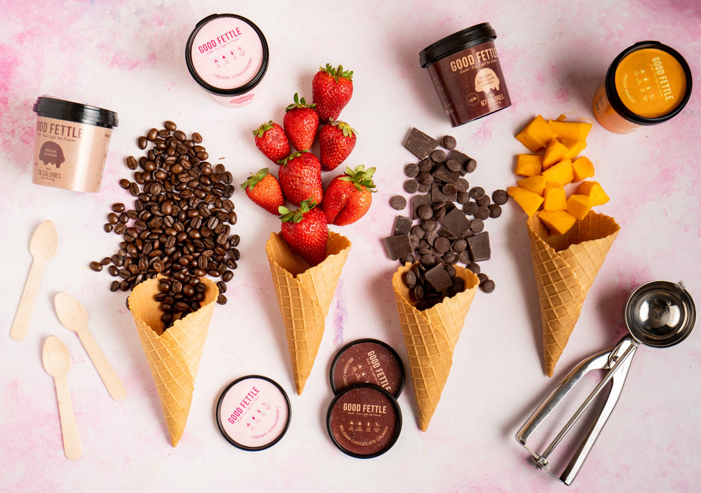 Craving Ice Cream But Counting Those Calories? Good Fettle Launches Asia's first Low Calorie Healthy Ice Cream