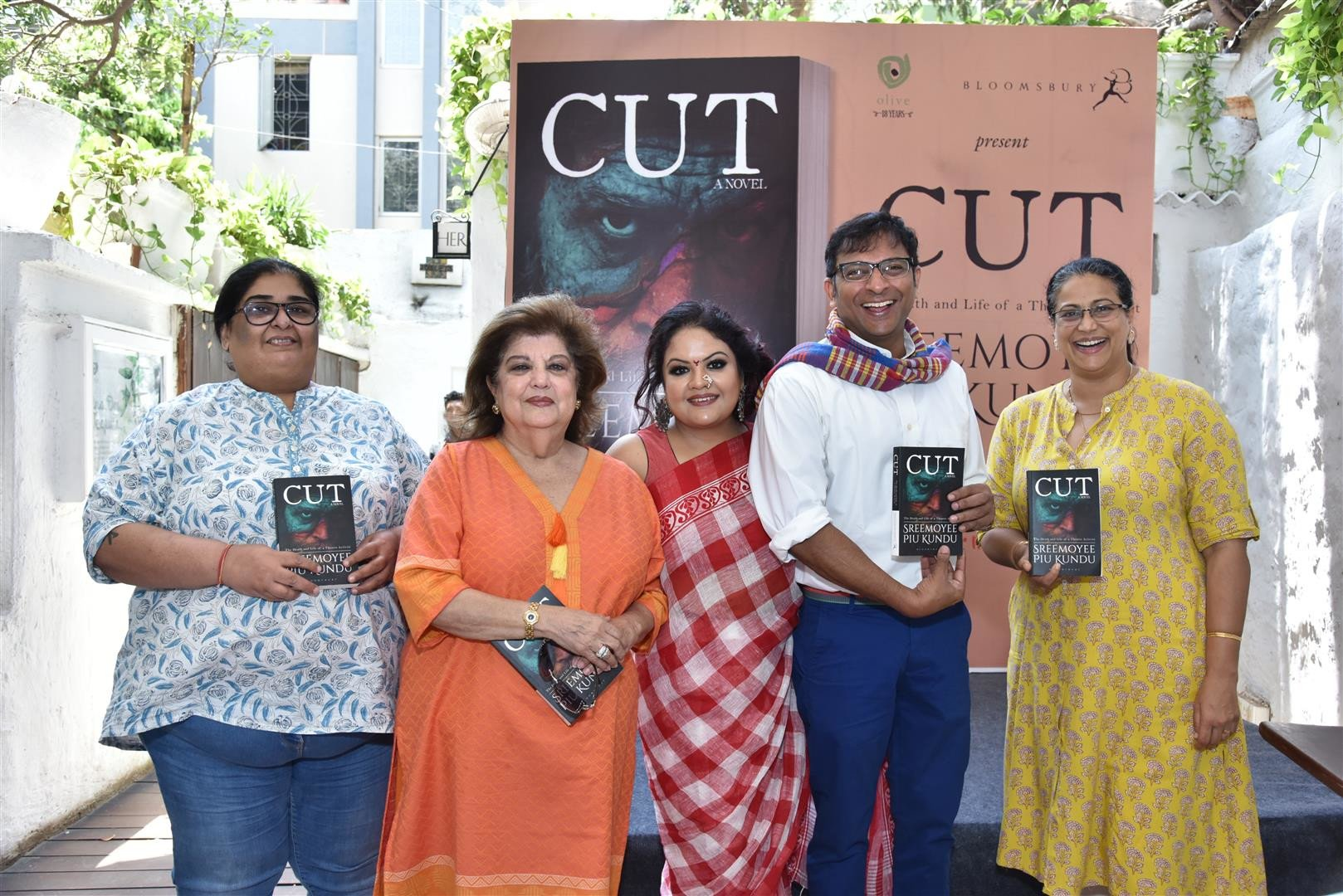 An Engaging Interaction at the 'CUT: The Life and Death of a Theatre Activist' Book Launch