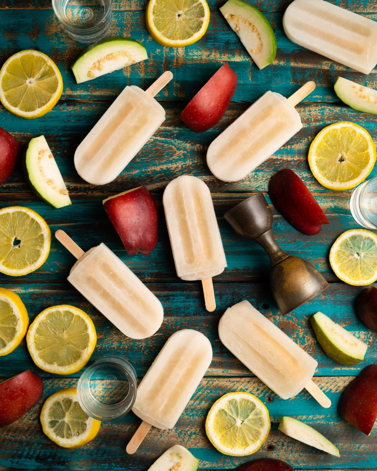 Icy Cold Gin Infused Popsicles Anyone?
