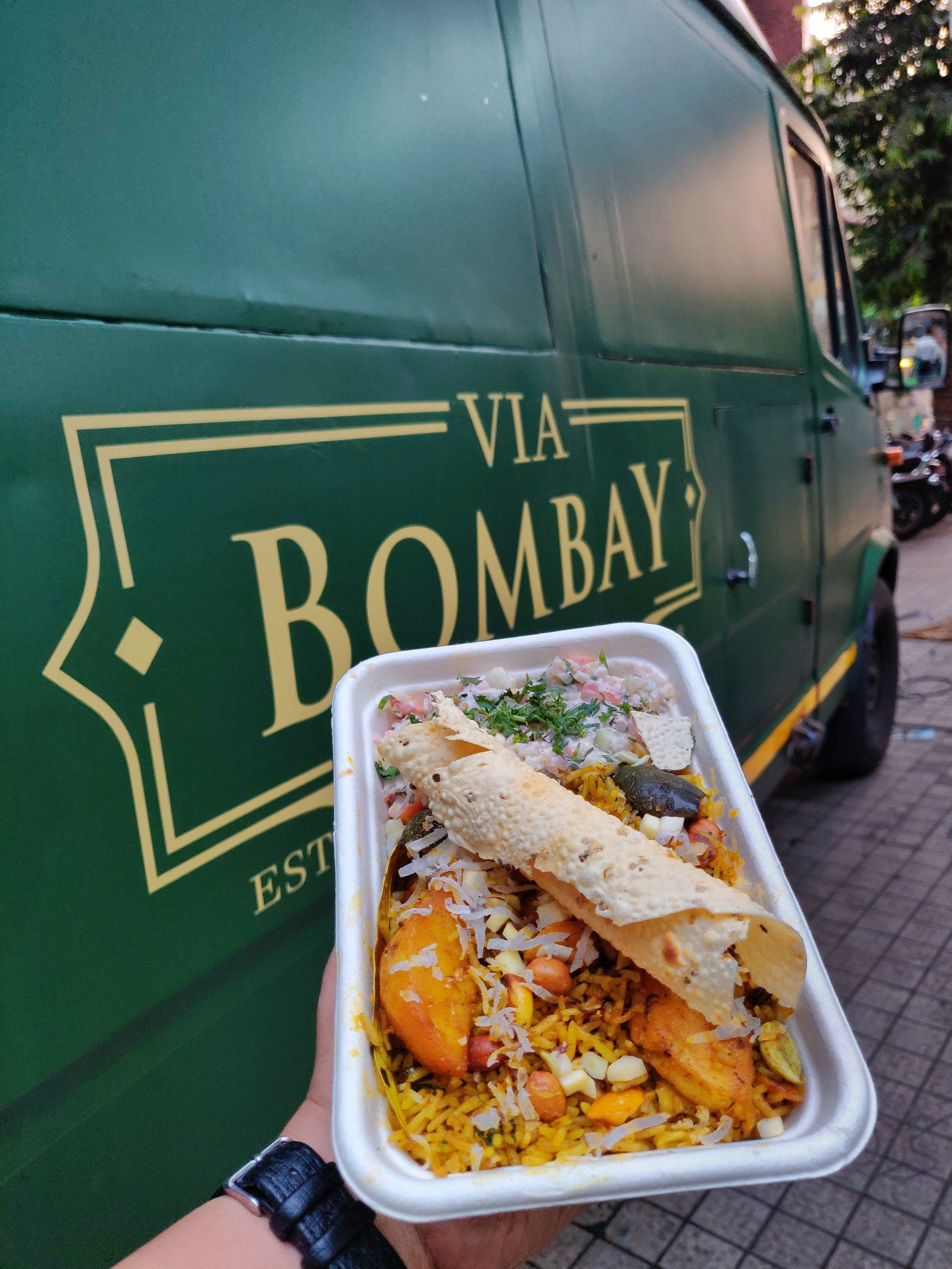 Via Bombay Goes Mobile With Bombay Food Truck