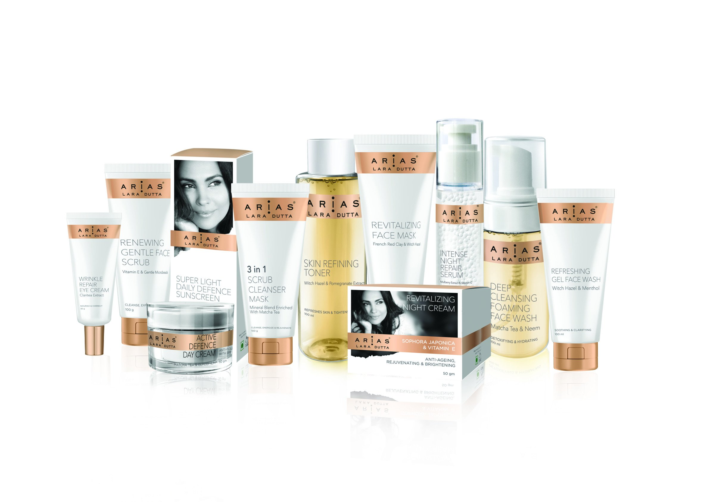 Scentials launches skin care brand 'Arias' with Lara Dutta