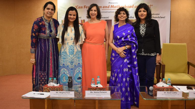 Can feminism and motherhood co-exist? An insightful discussion between Meghna Pant, Seema Punwani and Swati Khandelwal