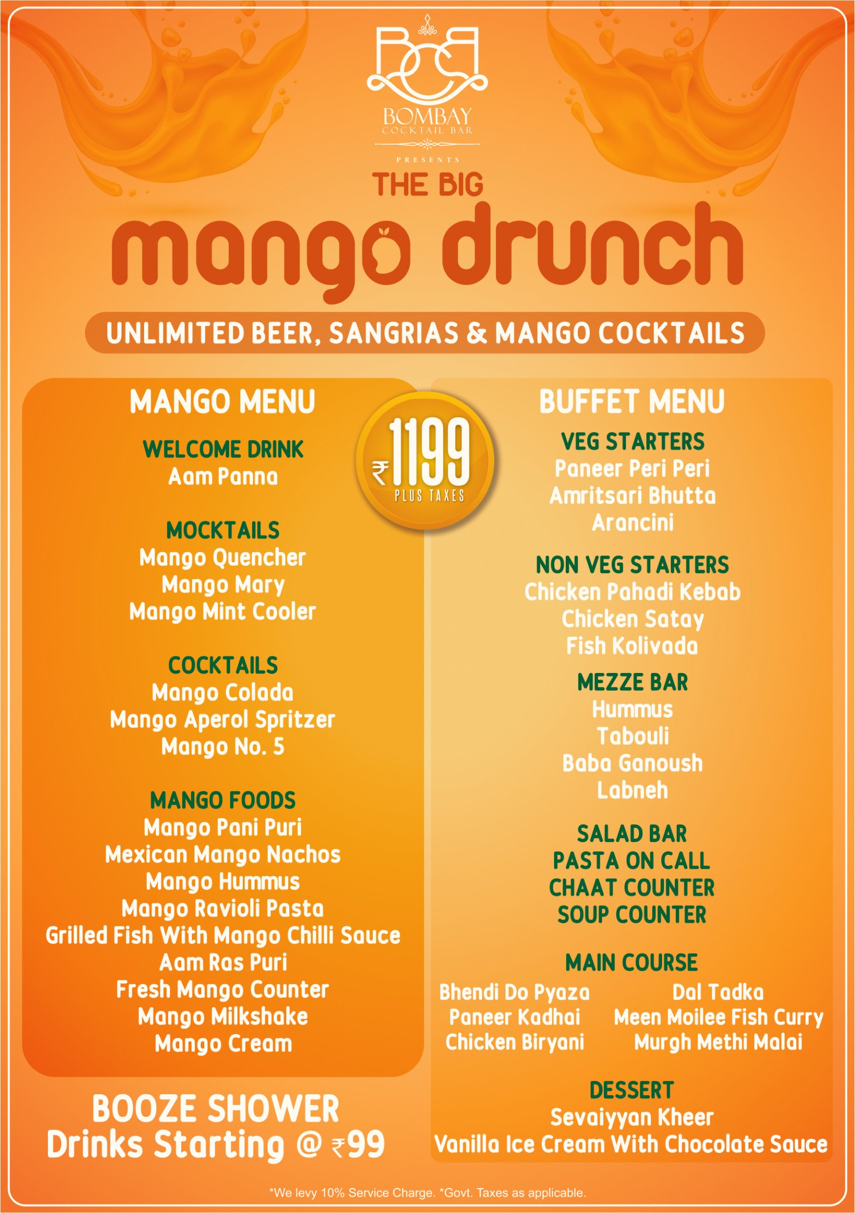 Bid Adieu to the 'Aam Season' with the 'The Big Mango Drunch'